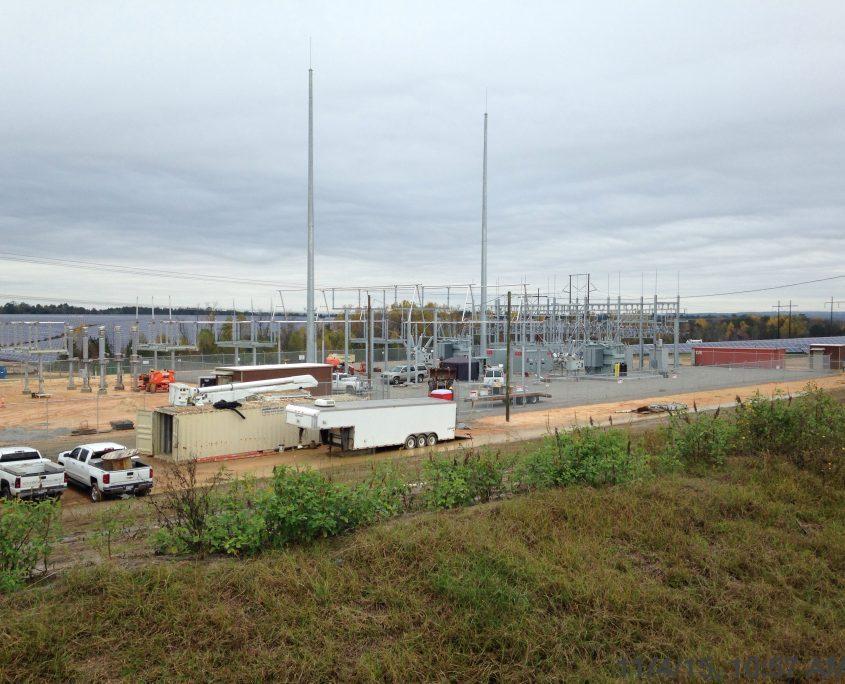 solar farm site development